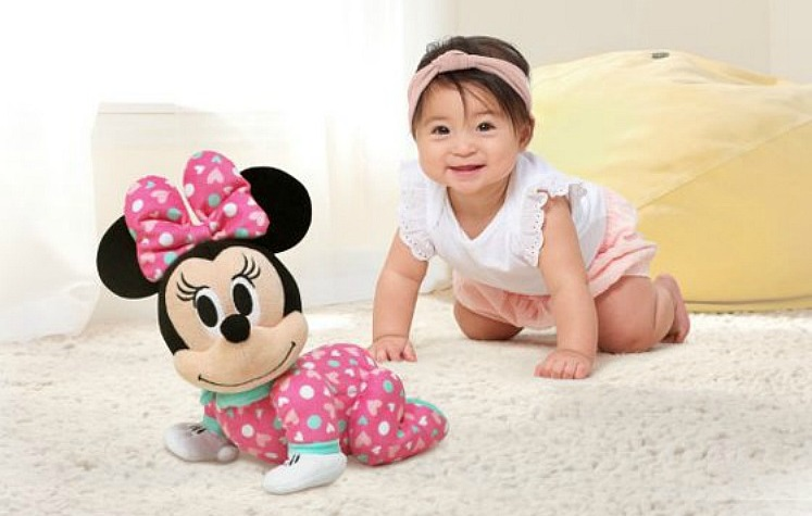Minnie Mouse Plush Crawling Pal by Disney only $16.88 at Walmart