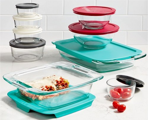 Food Storage Set (18Pc.) by Pyrex only $39.99 at Macy's
