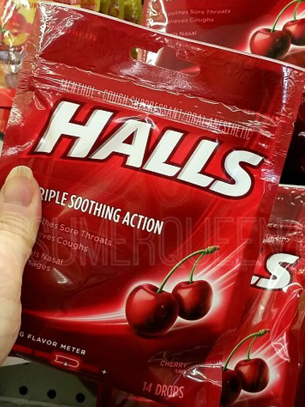 halls cough drops at dollar tree