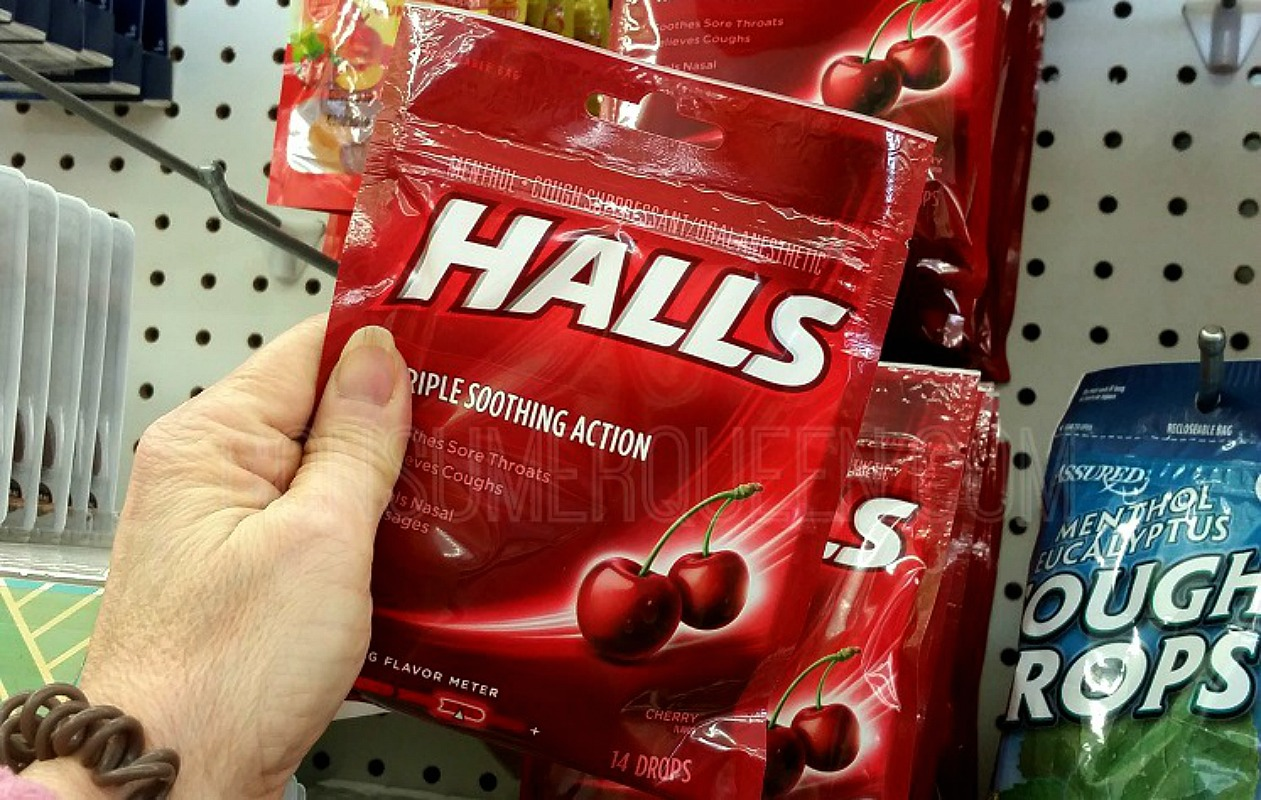 Hall's Cough Drops 37¢ at Dollar Tree With Coupon