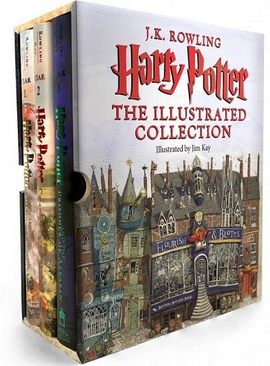 Harry Potter Illustrated Collection (Hardcover Boxed Set) $64.61 At Amazon