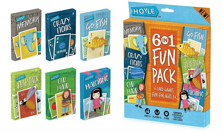 Kid's Card Game 6-Pack Fun Pack Only $4.63 At Amazon