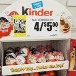 Kinder Joy Eggs 75¢ at Crest & Target + Walmart Deal w/New Coupon