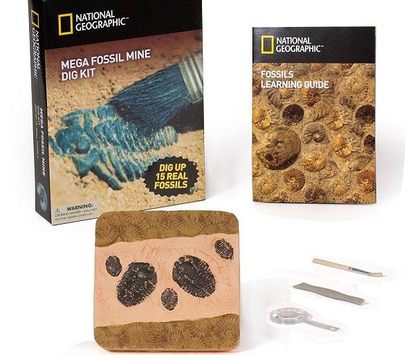 National Geographic Mega Fossil Mine $19.90 At Amazon