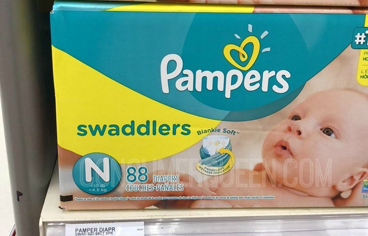 Pampers Super Pack Diapers Only $19.49 After Gift Card at Target