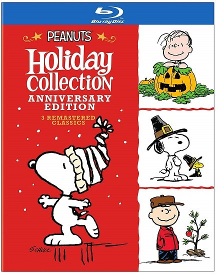 Peanuts Holiday Anniversary Collection on Blu-ray $9.99 At Amazon