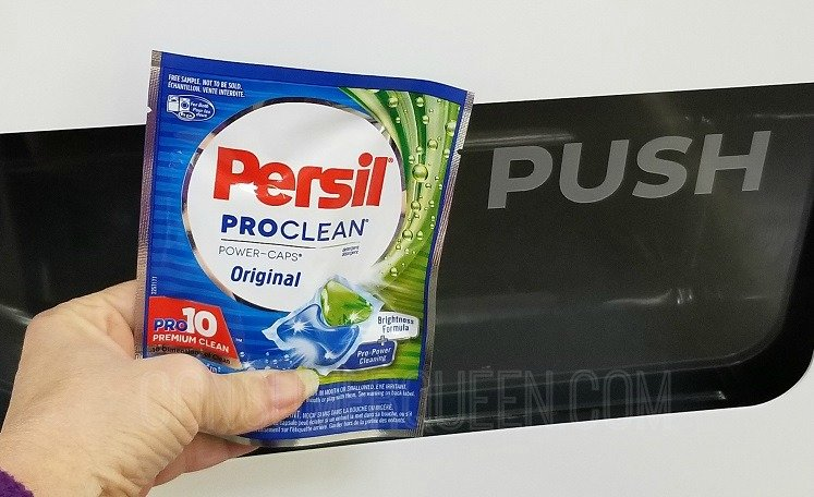 Persil Detergent Popping Out of The FreeOsk This Week
