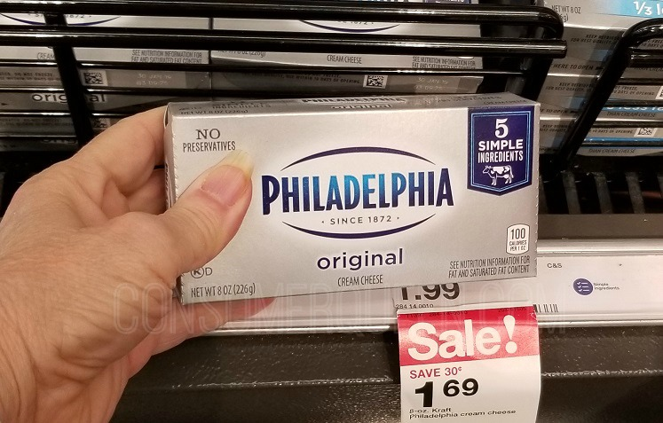 Philadelphia Cream Cheese 94¢ at Target After Rewards + Yummy Recipes