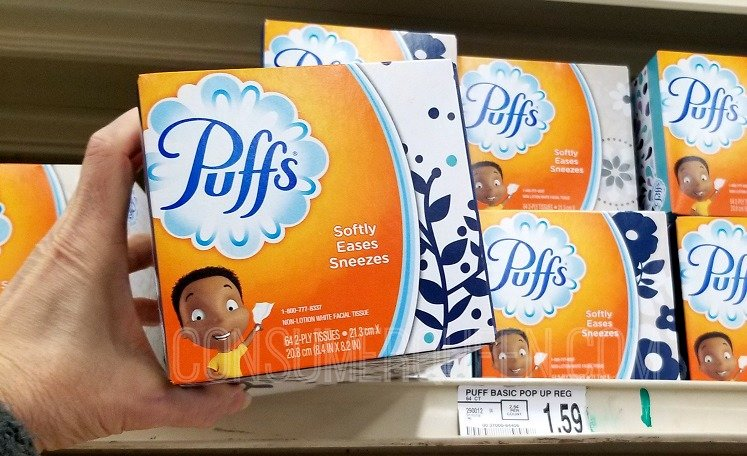 Puffs Facial Tissue as Low as 29¢ at Homeland & Country Mart