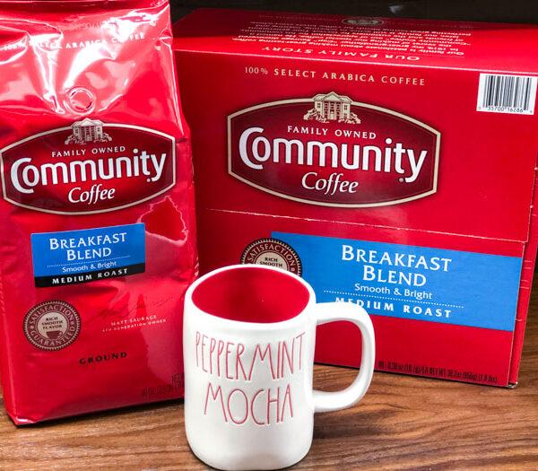 Community Coffee Peppermint Mocha