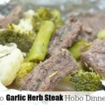 Keto Garlic Herb Steak Hobo Dinner Pinterest