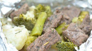 Keto Garlic Herb Steak Hobo Dinner Pinterest