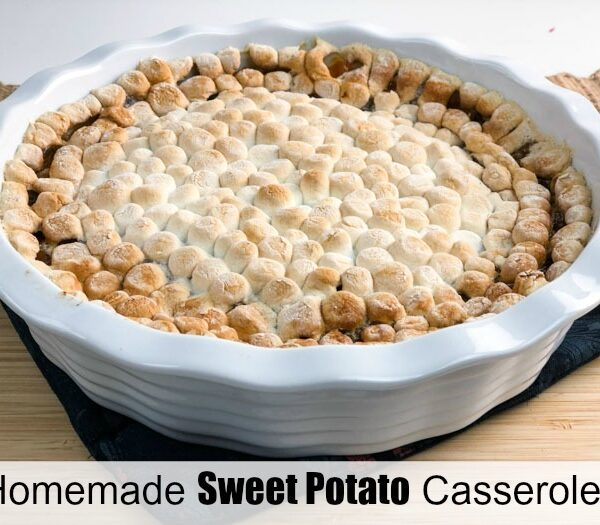 Sweet Potato Casserole with Ruthie's Twisted Harvest