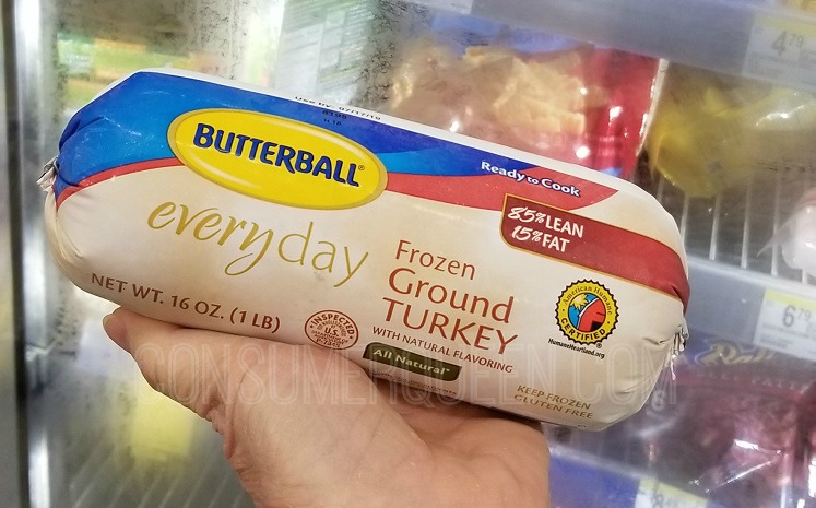 Butterball Ground Turkey 1-lb. Only $1.24 at Walgreens!