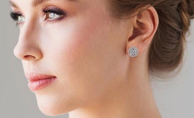 Cate & Chloe 18K Gold Plated Earrings Just $16.99 at Walmart
