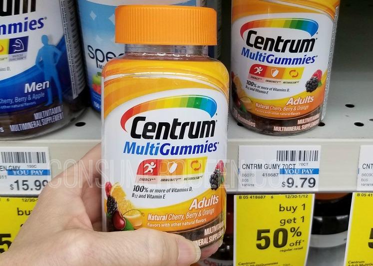 Centrum MultiGummies 66% off at CVS This Week – No EB Involved