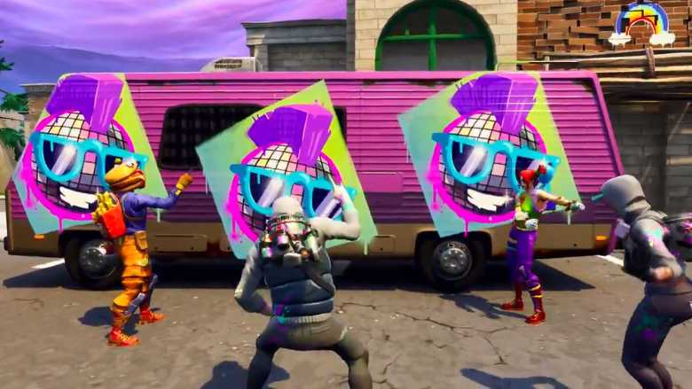 Free Exclusive Fortnite In Game Spray Today At Walmart