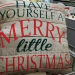 Holiday Throw Pillows Only $5 at Walmart