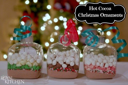 Hot Cocoa Christmas Ornaments