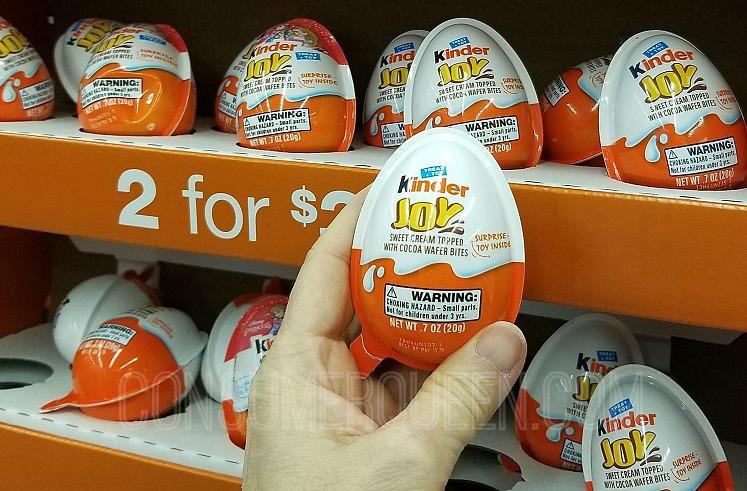 Kinder Joy Eggs 75¢ at Walgreens – Nice stocking Stuffers!