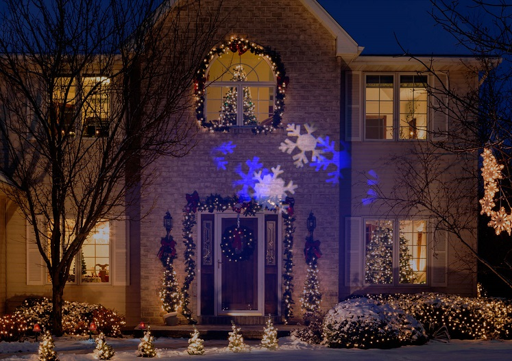 Christmas Light Projector by Gemmy only $9.99 at Walmart – Clearance