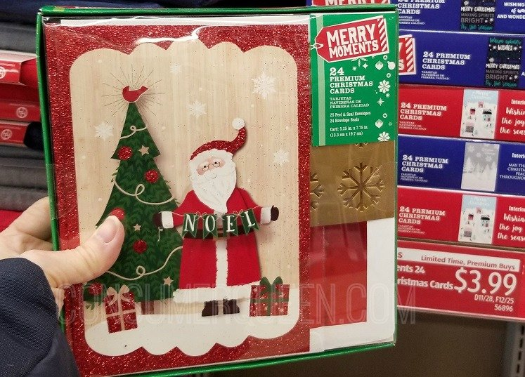 Christmas Cards, Winter Boots, Knives & More This Week at Aldi