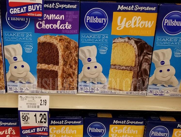 Pillsbury Cake Mix & Brownies 79¢ at Homeland & Country Mart