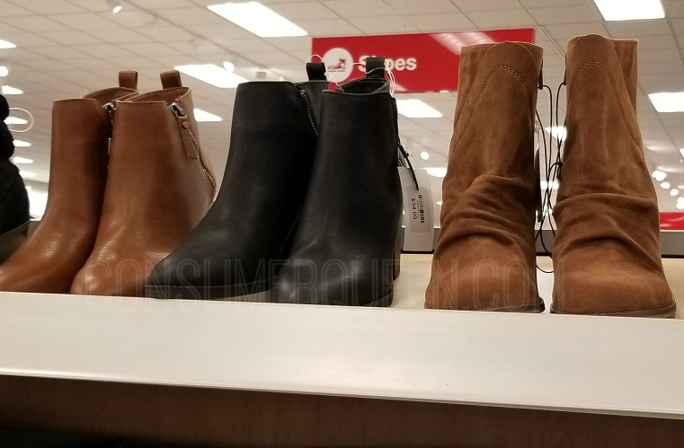 Women's Shoes & Boots 30% Off Today Only at Target