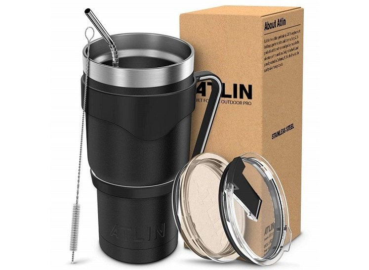 Atlin 30 Ounce Stainless Steal Tumbler Set Only $18.74 On Amazon