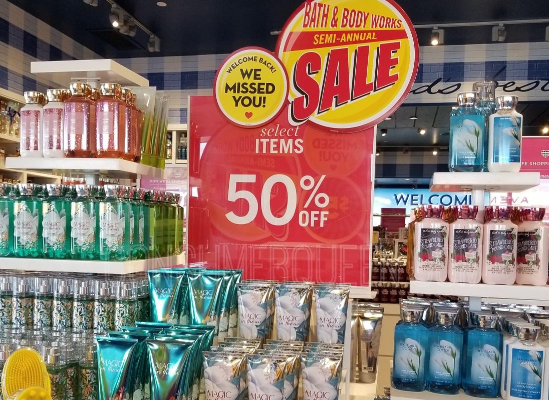 Bath & Body Works Semi-Annual Sale