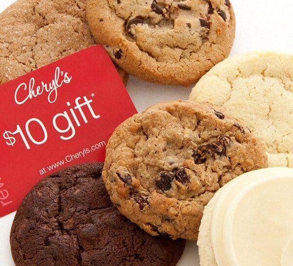 Cheryl's 6 cookie sampler
