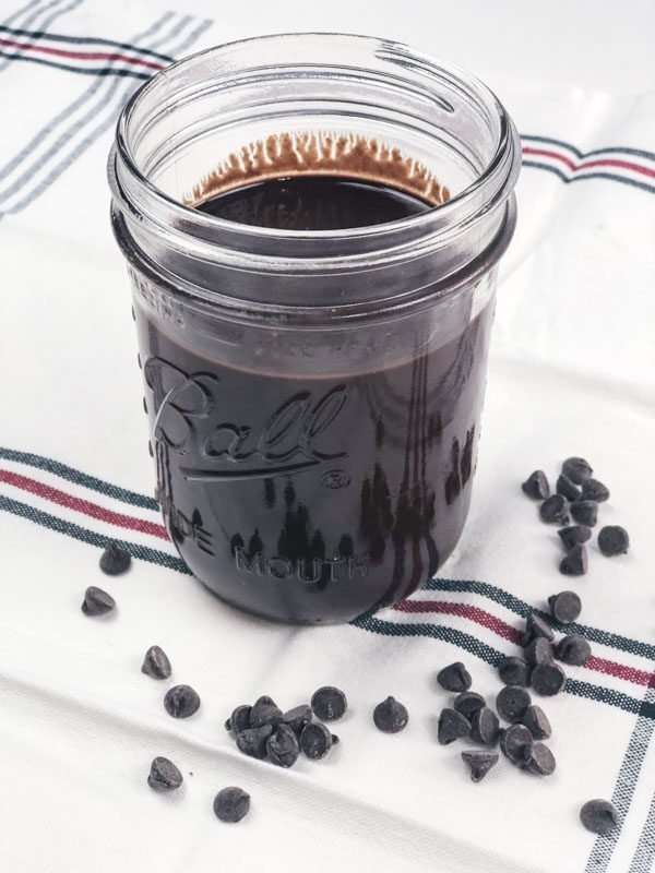 Homemade Chocolate Syrup { Keto Friendly}