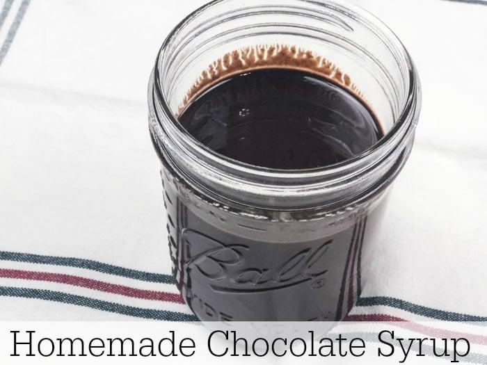 Keto Friendly Homemade Chocolate Syrup