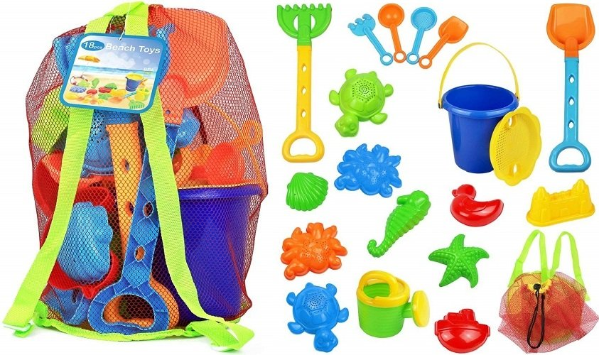 Kids Beach Sand Toy Set by Click N' Play Just $13.50 + Free Shipping!