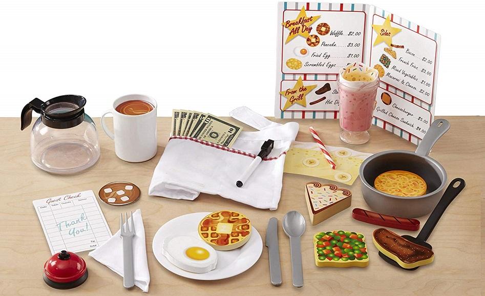 Melissa & Doug Star Diner Restaurant Play Set $23.39 Shipped!
