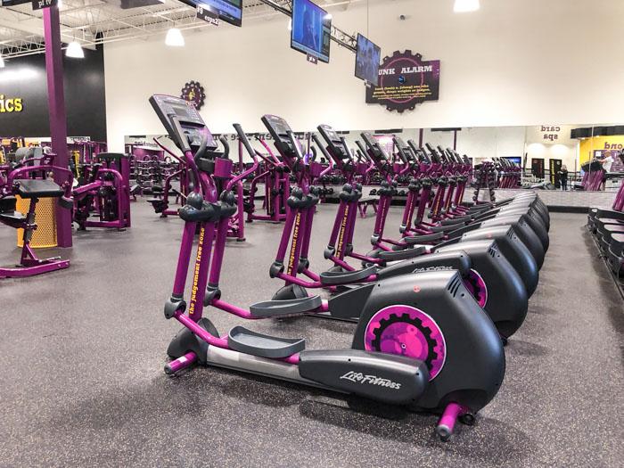 Planet Fitness Gym Bikes