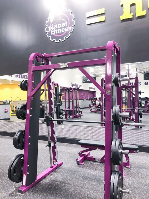 Planet Fitness Gym Weights