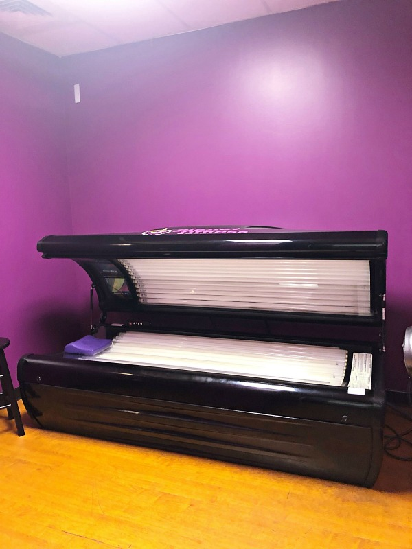 Planet Fitness Tanning Bed