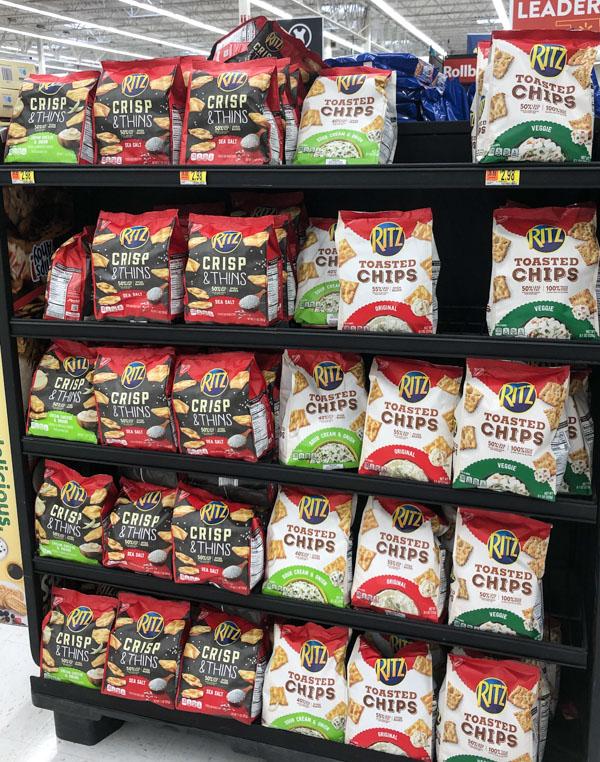 Ritz Crisps Shelf