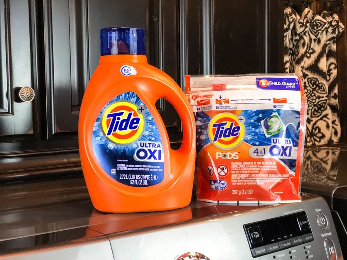 Tide Coupon Drop laundry room