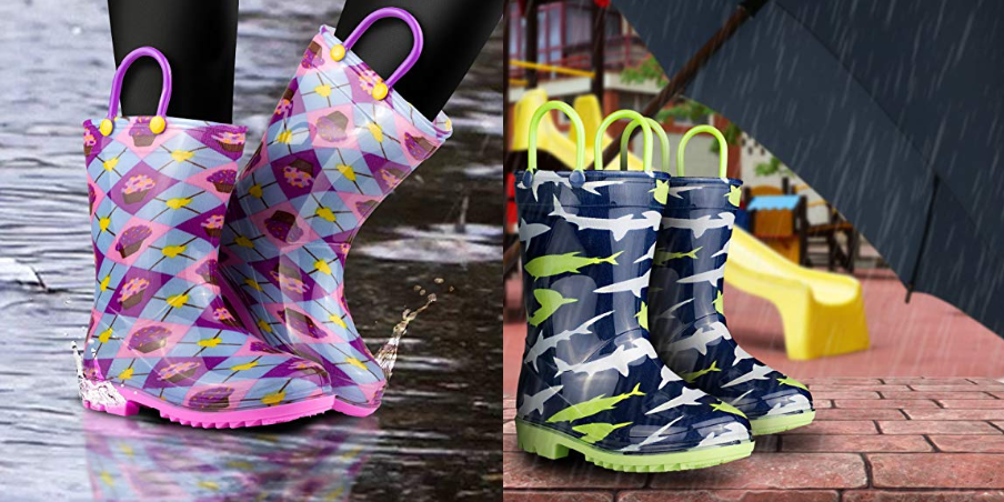 Children's Rain Boots by ZOOGS Marked as Low as $14.37 + Free Shipping!