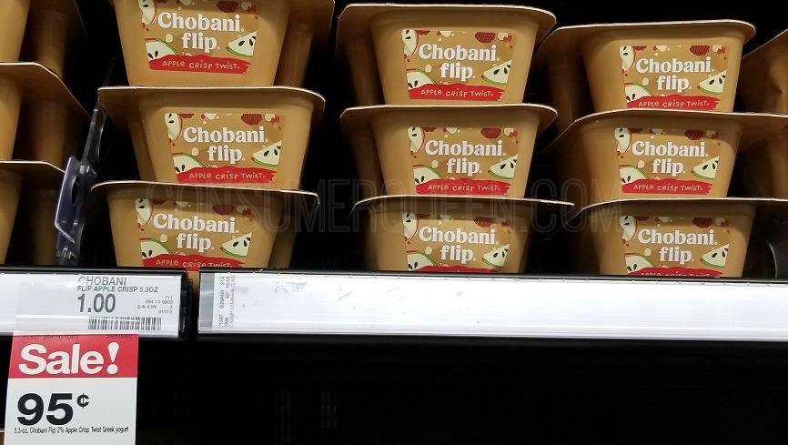 Chobani Flip Yogurt as Low as 46¢ Each at Target