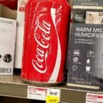 coke can mini fridge