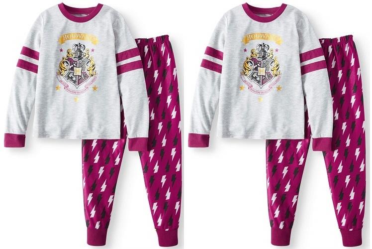 Harry Potter Pajama Set for Girls $4 (Reg. $12.88) at Walmart