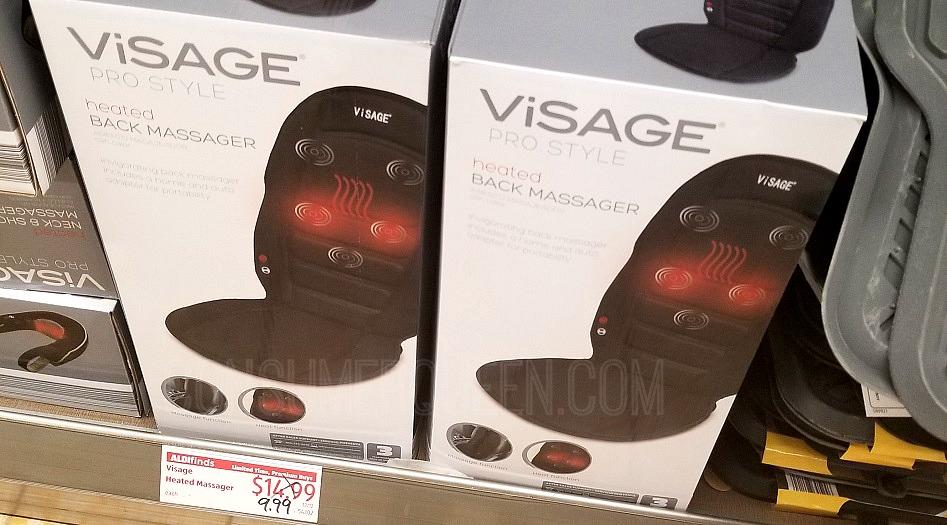 heated back massager