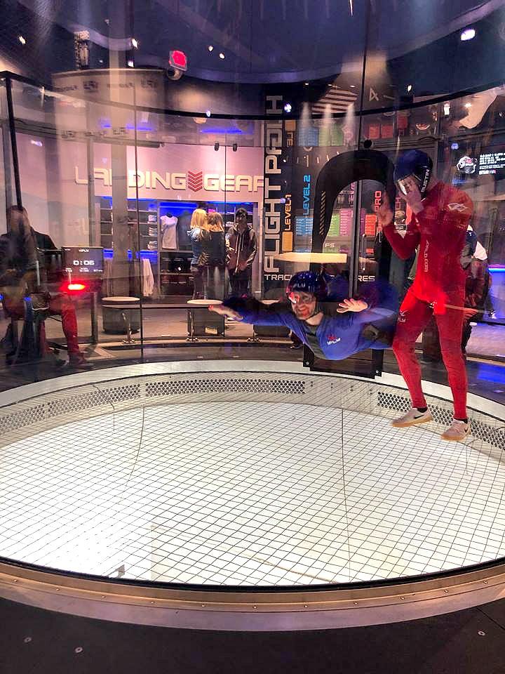 Indoor Skydiving trainer