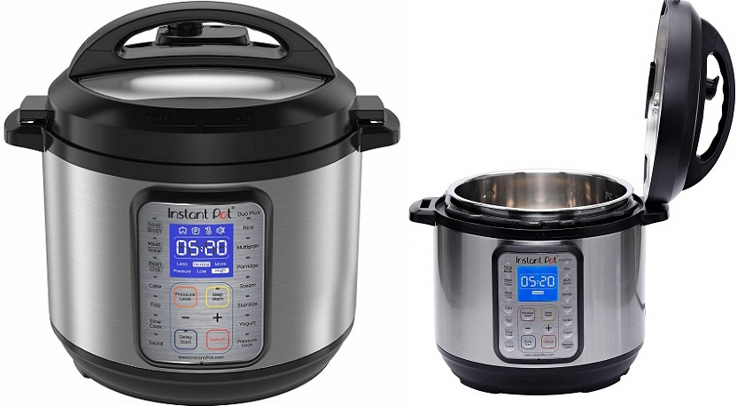 Instant Pot DUO Plus, 6 Quart Programmable Pressure Cooker $79.99 + Free Shipping!