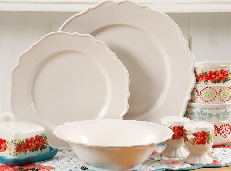 linen dinnerware set