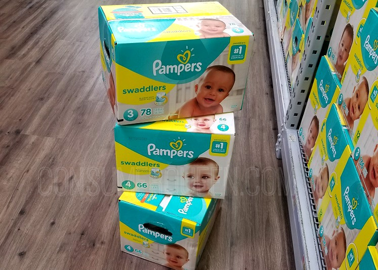 pampers value pack diapers