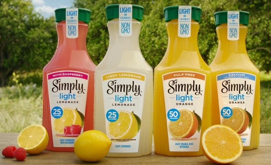 simply light orange